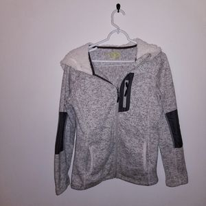 Made for life small gray hoodie
